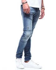 Men - SEAMED DETAIL INDIGO JEAN-2294100