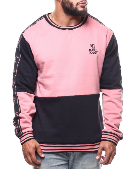 Karl Kani - Color Block L/S Sweatshirt  (B&T)