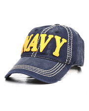 Hats - Navy Vintage Dad Hat-2295288