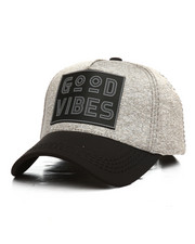 Hats - Good Vibes Melange Dad Hat-2295444