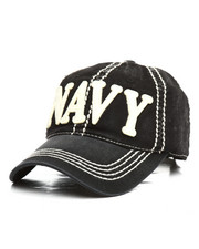 Hats - Navy Vintage Dad Hat-2295287