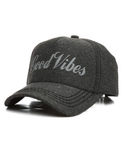 Hats - Good Vibes Melange Dad Hat-2295346