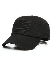 Dad Hats - Flag Patch Dad Hat-2295326