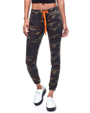 Fashion Lab - Camo Drawstring Waist Jogger-2295410