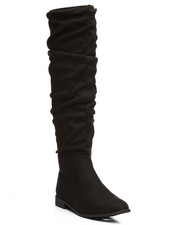 Fashion Lab - Anora Knee High Slouch Boots-2295457