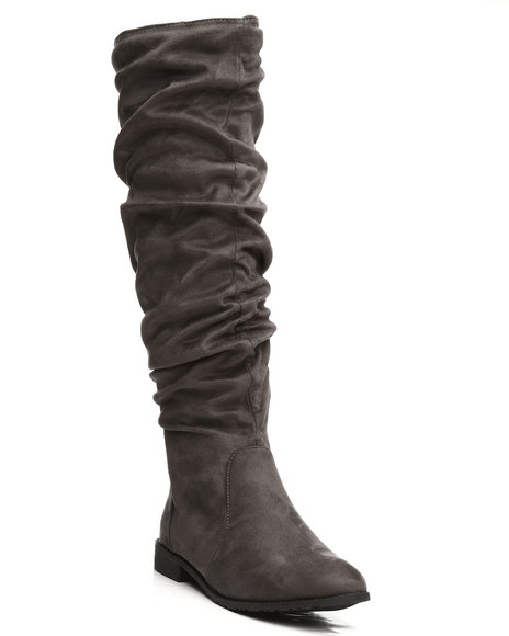Fashion Lab - Anora Knee High Slouch Boots