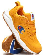 93Eighteen Suede Big C Logo Sneakers