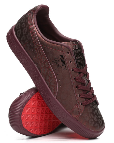 Puma - Clyde Sheer Animal Sneakers