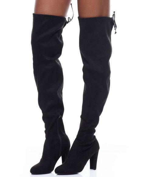 Fashion Lab - Amaya-12 Hi Heel Tall Boots