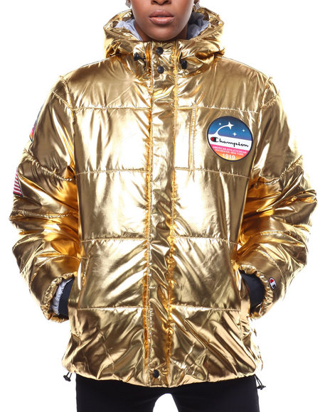 Champion - Metallic Puffer Jacket
