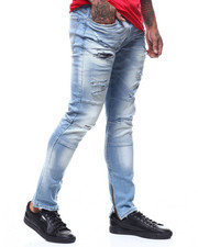 Jordan Craig - Sean Antique Wash Industrial Knee Jean-2296532