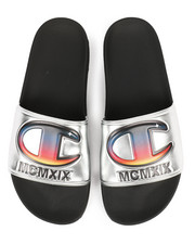 Athleisure for Men - IPO Metallic Slides-2295617