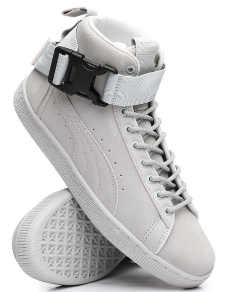 Puma - Suede Classic Mid Buckle Sneakers