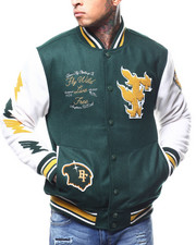 Born Fly - WOOL VARSITY JACKET-2296457