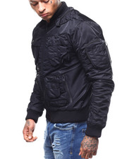 Heavy Coats - Tactical Fleece Lined Jacket-2296553