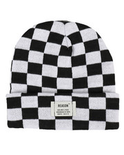 Reason - Plaid Checkered Beanie-2296671