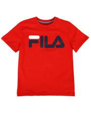Fila - Classic Logo Tee (8-20)-2296109