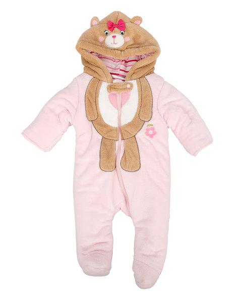 Duck Duck Goose - Bear Sherpa Pram Suit (Infant)