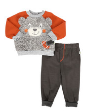 Duck Duck Goose - Faux Fur Fleece Set (Infant)-2296822