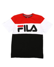 Fila - Color Blocked Tee (8-20)-2296119