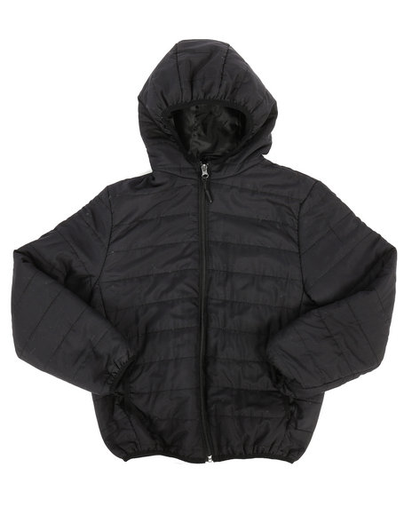 Arcade Styles - Packable Puffer Jacket (8-20)