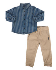 Boys - NYC Stripe 2Pc Set (2T-4T)-2296776