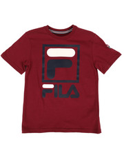 Fila - Stacked Logo Tee (8-20)-2296114