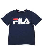 Fila - Classic Logo Tee (8-20)-2296104