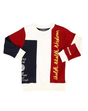 Parish - Cut & Sewn Printed Pullover (4-7)-2296733