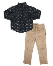 Boys - Dkny 2 Pc Print Set (4-7)-2296762