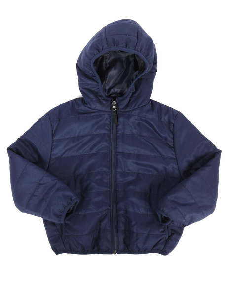Arcade Styles - Packable Puffer Jacket (4-7)