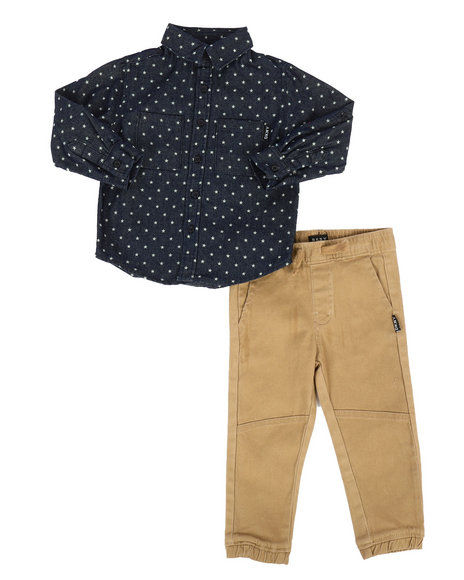 DKNY Jeans - NYC Star 2Pc Set (2T-4T)