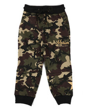 Bottoms - Camo Jogger Pants (2T-4T)-2296738