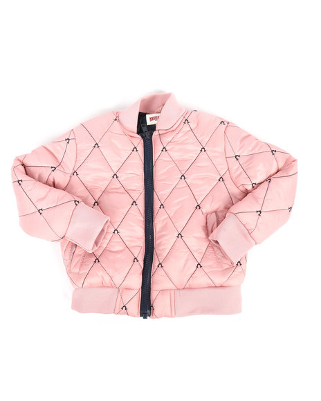 True Religion - Quilted Bomber Jacket (2T-4T)