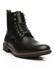 Boots - Burnished Lace Up Boots-2297941