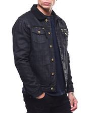 Born Fly - TREJO DENIM JACKET with SHERPA-2297602
