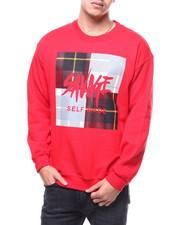 Buyers Picks - Savage Plaid Box Crewneck Sweatshirt-2299477