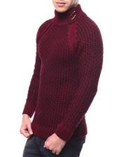 Sweatshirts & Sweaters - Raglan Mock Neck Sweater-2298975