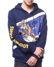 Freeze Max - Blue Print Hoody Sweatshirt-2298417