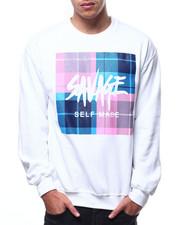 Buyers Picks - Savage Plaid Box Crewneck sweatshirt-2299055