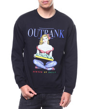 OUTRANK - Served Up Daily Crewneck Sweatshirt-2299843