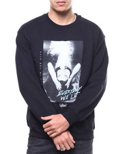 OUTRANK - Everyday We Lit Crewneck Sweatshirt-2299833