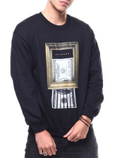 OUTRANK - Shredded Art Crewneck Sweatshirt-2299853