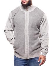 Big & Tall - Fleece Lined Full Zip  Sweater (B&T)-2299940