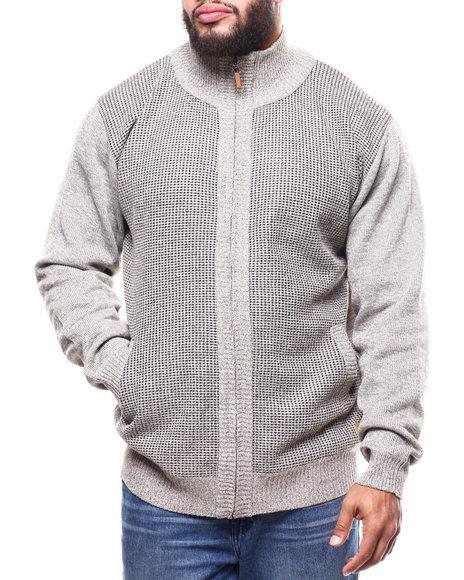 Buyers Picks - Fleece Lined Full Zip  Sweater (B&T)