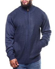 Big & Tall - Fleece Lined Full Zip  Sweater (B&T)-2299936