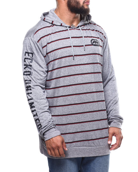 Ecko - Mini Stripe L/S Hood (B&T)