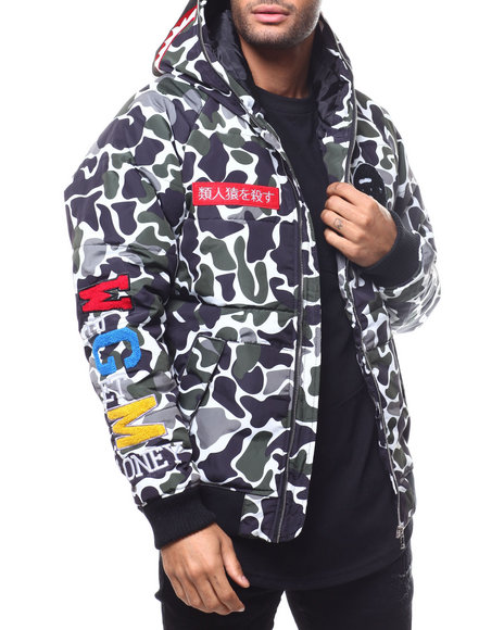 Buyers Picks - Ape Camo Hooded Jacket BY ROBERT PHILLIPE