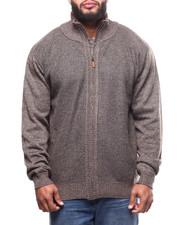Big & Tall - Fleece Lined Full Zip  Sweater (B&T)-2299926
