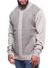 Big & Tall - Fleece Lined Full Zip  Sweater (B&T)-2300423
